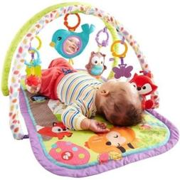 Fisher-Price 3-in-1 Musical Activity Gym, Woodland - Help St