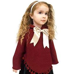 Birdfly 12M-3T Infant Toddler Baby Kid Girl Tassel Sweater w