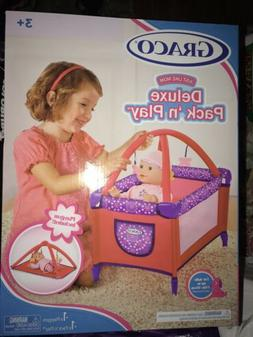 """18"""" Doll Deluxe GRACO PACK N PLAY Pen Activity Mat Play ya"""