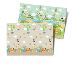 2 Side Baby Plays Mat Children's Creeping Education Soft Foa