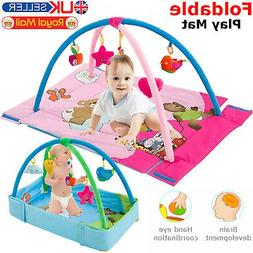 3 in 1 Baby Gym Activity Foam Play Floor Mat Ball Pit & Toys
