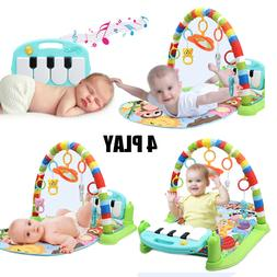 3 in 1 Baby Light Musical Gym Play Mat Lay & Play Fitness Pi