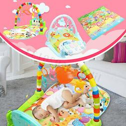 3 In 1 Baby Lullaby Playmat Kid Music Play Mat Piano Blanket