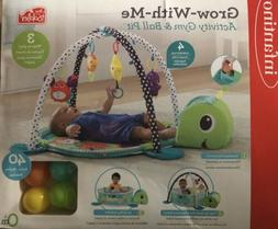 Infantino 3-in-1 Grow with me Activity Gym and Ball Pit 0 Mo