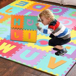 36Pc Kids Alphabet Number EVA Floor Play Mat Baby Room Jigsa