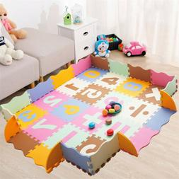 36PC Play Mats Numbers Puzzle Pad Children's Exercise Foam T