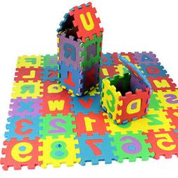 36pcs Kids Play Mat Foam Eva Soft Learning Letters and Numbe