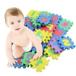 36pcs large alphabet numbers evc floor play