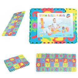 36pcs Soft Baby Floor Play DIY Puzzle Mat Foam Alphabet Numb