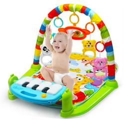 3In1 Multifunctional Baby Infant Activity Gym Play Mat Music