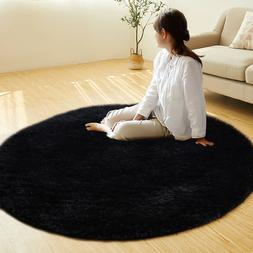 4-Feets Fluffy Rugs Ultra Soft Children Kids Playing Protect