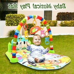 4-In-1 Infant Baby Kid Playmat Play Musical Piano Activity S