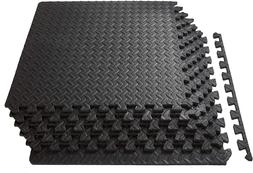 48SqFt Interlocking Puzzle Rubber Foam Gym Fitness Exercise