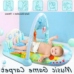 5 in 1 Baby Gym Floor Play Mat Blanket Pedal Piano Musical K
