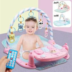 5 In 1 Baby Gym Floor Play Mat Musical Piano Toy Activity Ex