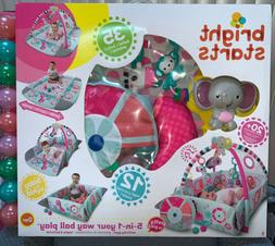 BRIGHT STARTS 5-in-1 YOUR WAY BALL PLAY 0MOS.+ ACTIVITY GYM