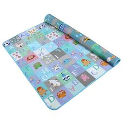70×60 Inches Extra Large Baby Crawling Mat Non Toxic campin