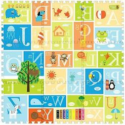 Creative Baby 9 Piece Interactive Playmat i-Mat, Alphabet