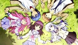 Angel Beats PLAYMAT CUSTOM PLAY MAT ANIME PLAYMAT #144