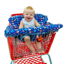 Busy Bambino 2-in-1 Shopping Cart Cover   High Chair Cover f