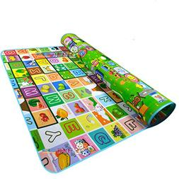 Garwarm 71x 59inches Extra Large Baby Crawling Mat Baby Play