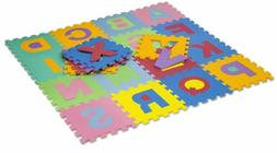 HemingWeigh Kids Multicolored Alphabet Puzzle Play Mat - 26