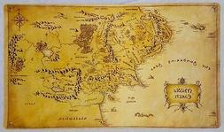 Masters of trade Lord of the Rings Middle Earth Map LOTR TCG
