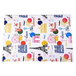 Mudder Kids Painting Drop Cloth Washable Art Floor Mat for A