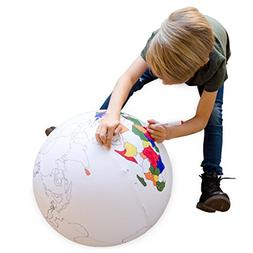 Seedling Color the Earth Inflatable Ball Activity Kit