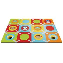 Skip Hop Baby Infant and Toddler Zoo Playmat with Interlocki