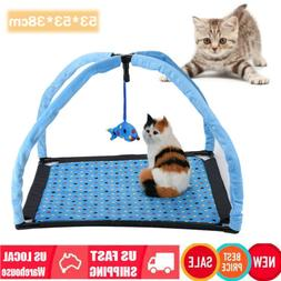 Activity Tent Exercise Play House Soft Mat Bed With Fish Han