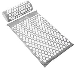 ProSource Acupressure Mat and Pillow Set for Back Neck Pain