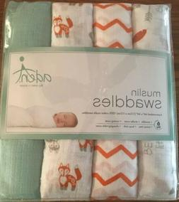 Aden by Aden + Anais Swaddleplus Baby Swaddle Blanket, 100%