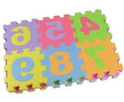 Alphabet Numbers Soft Foam Playing Puzzle Mat Children Kids