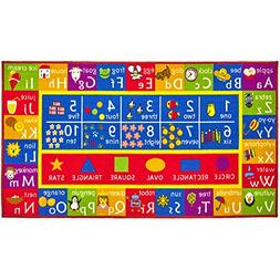 Alphabet and Numbers Kids Play Rug – Educational and Fun K