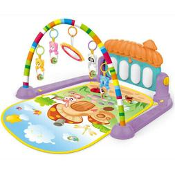 Baby Activity Gym Kick and Play Piano Mat Center With Melodi