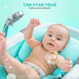 Baby Bath Tub Mat Lotus Bloom Sink Play Safety Security Anti
