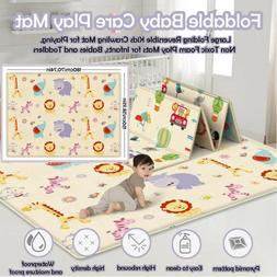 Baby Care Game Pad - Large Foldable Reversible Child Carton