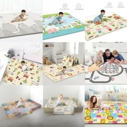 Baby Gyms & Play Mats Reversible Kids Activity Mat Baby Care