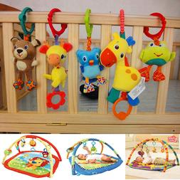 Taggies Bright Starts Baby Kids Flutter Squeaky Rattle Playm