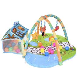 Baby Gym Floor Play Mat Activity Center Fisher Price Kick an