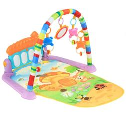 Baby Gym Piano Kick and Play Mat Kids Toy Boy Girl 0-3 Year