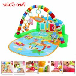 Baby Gym Play Mat Lay & Play Fitness Music And Lights Fun Pi