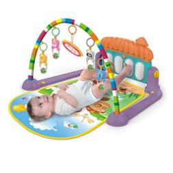 Baby Gym Play Mat Lay &Play 3 in 1 Fitness Music Fun Piano F