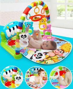 Baby Hanging Toy Educational Playmat Gym Musical with Piano