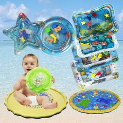 Baby Inflatable Water Beach Mat Fun Activity Play Center For