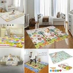 Baby Kids Care Play Mat Large Double Sides Non-Slip Waterpro