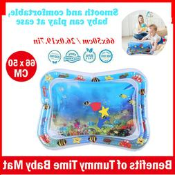 baby kids inflatable water play mat toddlers