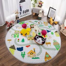 Baby Kids Play Mat Foldable Soft & Washable Toys Storage Org