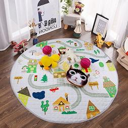Winthome Baby Kids Play Mat Foldable Soft and Washable Toys